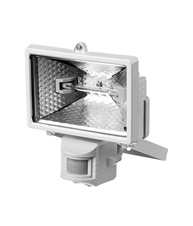 Прожектор галогенный с датчиком движения 57111-W